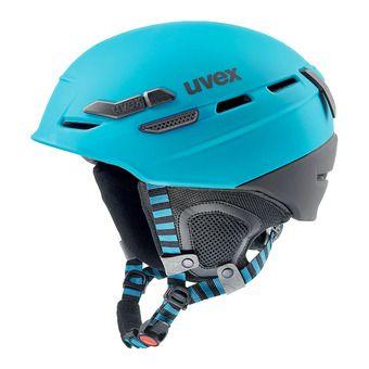 Uvex P.8000 TOUR - Ski Helmet -  petrol black mat