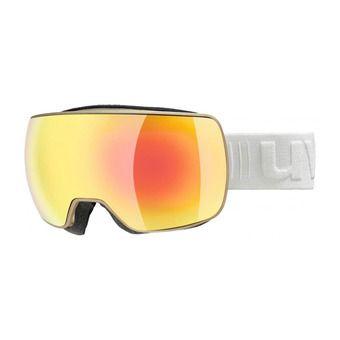 Uvex COMPACT FM - Ski Goggles -  prosecco mat/mirror orange clear