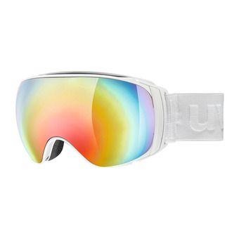 Gafas de esquí SPORTIV FM white mat/litemirror rainbow/clear