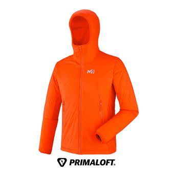 Veste à capuche homme MANA STRETCH orange