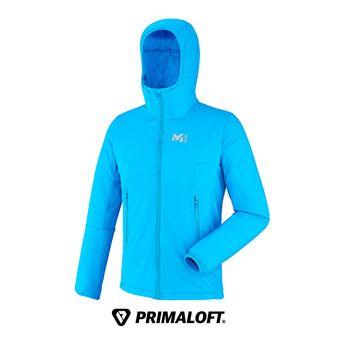 Veste à capuche homme MANA STRETCH electric blue