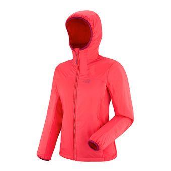 Veste à capuche femme MANA STRETCH hibiscus