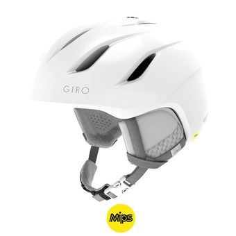 Giro ERA MIPS - Casque ski Femme pearl white