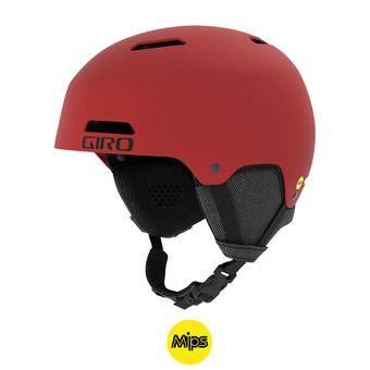 Casco LEDGE FS MIPS matte dark red
