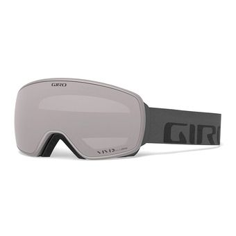 Giro AGENT - Masque ski grey wordmark vivid onyx