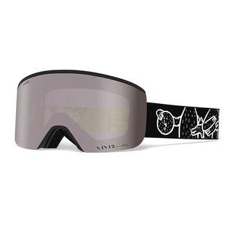 Gafas de esquí AXIS LUCAS BEAUFORT - vivid onyx/infrared
