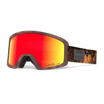 Giro BLOK - Masque ski wolfgang/vivid ember