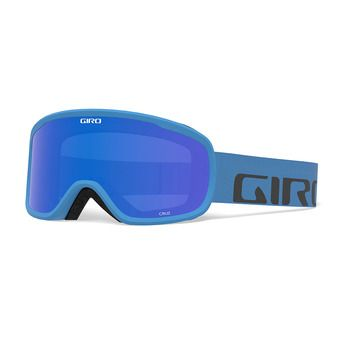 Giro CRUZ - Masque ski blue wordmark/grey colbalt