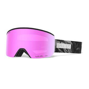 Masque femme ELLA black petal - vivid pink/infrared