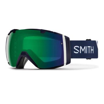 Smith I/O - Gafas de esquí chromapop storm rose flash
