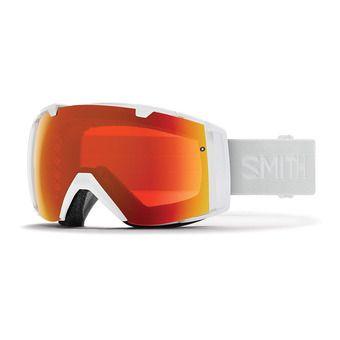 Masque de ski I/O white vapor/chromapop every day red mirror + chromapop storm rose flash