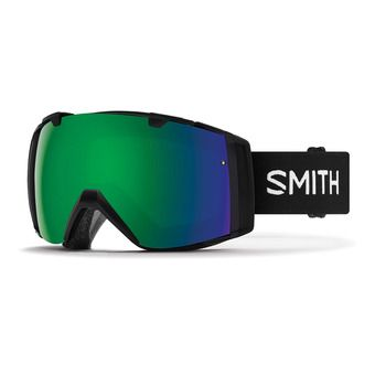 Gafas de esquí/snow I/O black/chromapop everyday green mirror + chromapop storm yellow flash