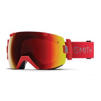 Masque de ski I/OX rise/chroma pop everyday red mirror + chromapop storm rose flash