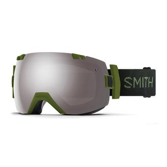 Masque de ski I/OX moss surplus/chromapop sun platinium mirror + chromapop storm rose flash