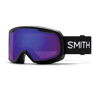 Smith RIOT - Masque ski Femme black/chromapop everyday violet mirror