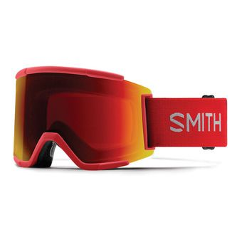 Smith SQUAD XL - Maschera da sci rise/chromapop everyday red mirror