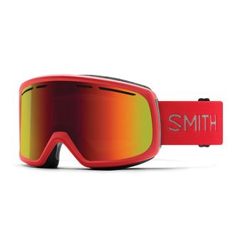 Smith RANGE - Maschera da sci Uomo rise/red sol x mirror