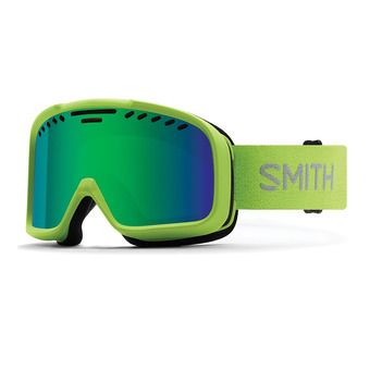 Masque de ski PROJECT flash/green sol-x mirror