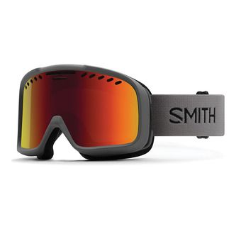 Masque de ski PROJECT charcoal/red sol-x mirror