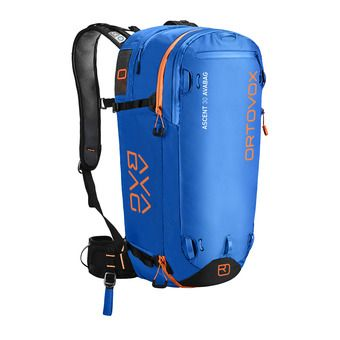 Mochila ASCENT 30L safety blue + kit airbag AVABAG-UNIT