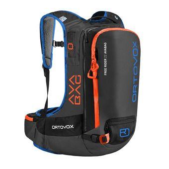 Ortovox FREE RIDER AVABAG 22L - Mochila airbag black/anthracite