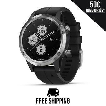 Reloj GPS FENIX 5 PLUS negro