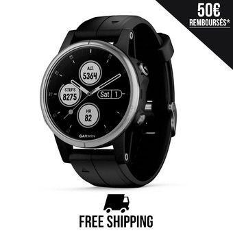 Reloj GPS FENIX 5S PLUS negro