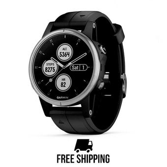 Garmin FENIX 5S PLUS - Reloj black