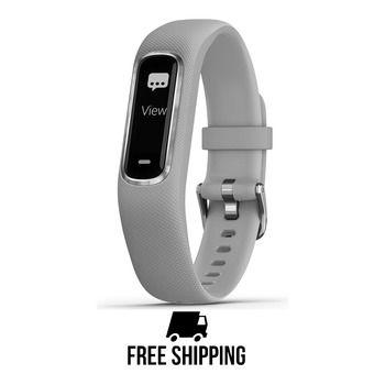 Garmin VIVOSMART 4 - Bracelet d'activité gris