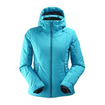 Chaqueta de esquí mujer RIDGE 2.0 blue morpho