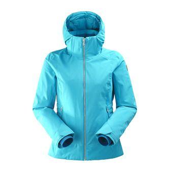 Veste de ski à capuche femme SQUAW VALLEY 2.0 blue morpho