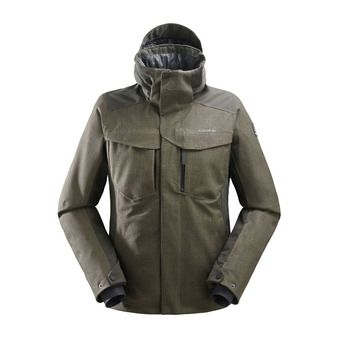 Veste de ski à capuche homme COLE VALLEY 2.0 deep jungle