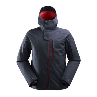 Veste de ski à capuche homme THE ROCKS 2.0 dark night