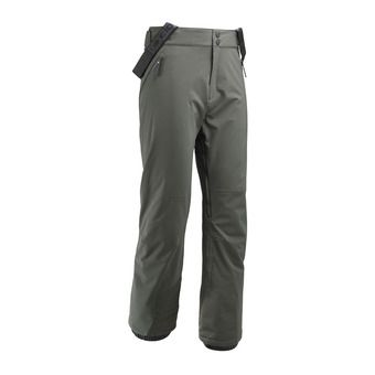 Pantalon de ski à bretelles homme ROCKER deep jungle