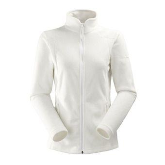Polaire zippée femme GLAD 2.0 white