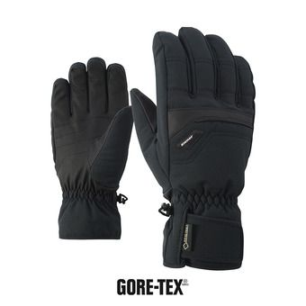 Ziener GLYN GTX GORE PLUS WARM - Guanti da sci Uomo black