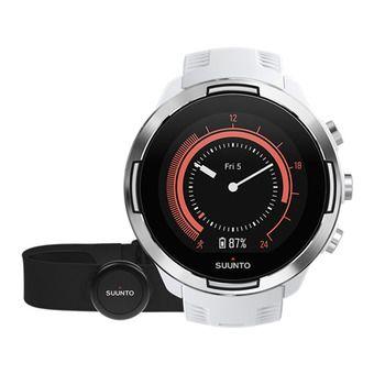 Suunto 9 BARO - Reloj white + cinturón