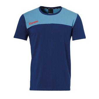 Tee-shirt MC homme EBBE & FLUT bleu océan/bleu colombe