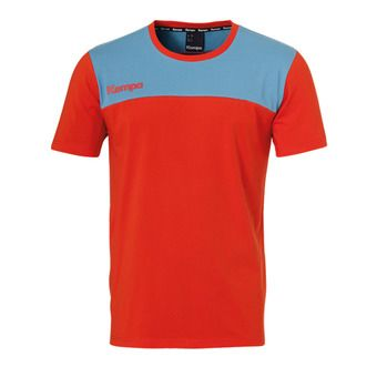 Kempa EBBE & FLUT - Tee-shirt Homme rouge phare/bleu colombe
