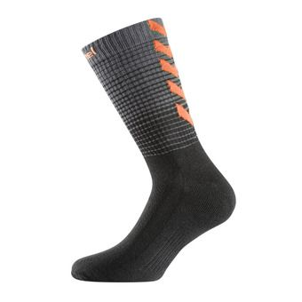 Chaussettes homme GRADIENT VP28 black/shocking orange