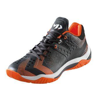 Chaussures handball homme DUAL PLATE POWER VP28 black/shocking orange