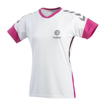 MAILLOT LADY TROPHY PE19 BLANC Femme white/beetroot purple