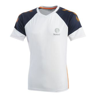 Hummel TROPHY - Maillot Homme white/poseidon