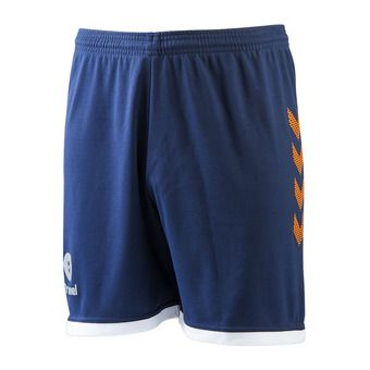 Hummel TROPHY - Short Homme poseidon/orange popside