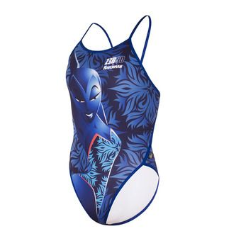 Z3Rod GRAPHIC - 1-Piece Swimmsuit - Women's - ravenman mermaid blue
