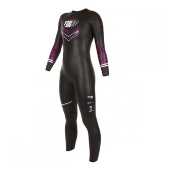 Combinaison triathlon 5/3/2mm femme ATLANTE black/fuchsia