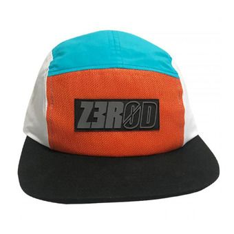 Casquette 5 PANEL orange/atoll