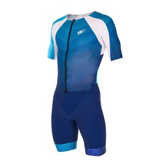 Z3Rod RACER - Trisuit - Men's - racer dark blue/atoll