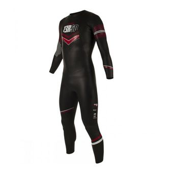 Combinaison triathlon 5/3/2mm homme ATLANTE black/red