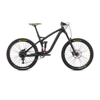 Les vélos NS BIKES Vtt-tout-suspendu-275-snabb-160-2-2018-noir